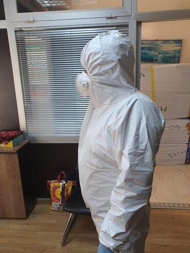 Медицинская одежда - Кыргызстан: Противовирусные комбинезоны / защитные костюмы️Производство: Турция