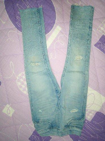Dečije Farmerke i Pantalone | Pirot: Farmerke pantalone Texas vel 92 slim za devojcice cepkane moderne