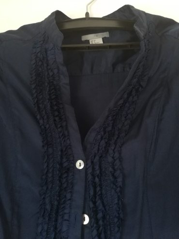 Košulje i bluze | Pozega: Teget tunika kosulja, h&m, s velicina, u odlicnom stanju