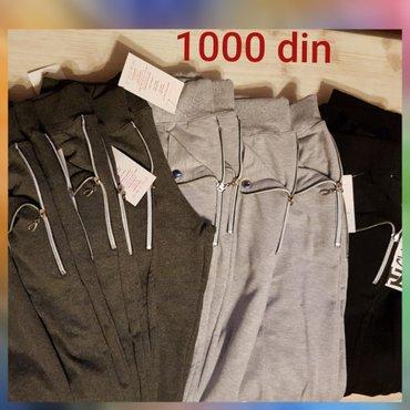 Ženske trenerke -helanke po ceni od samo 1000 din. Dostupne veličine:  - Kikinda