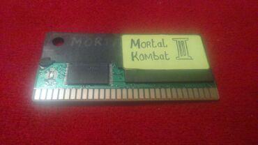 Sega Ucun Mortal Kombat 2 Oyunu Satilir. Tam ishlek Veziyyetdedi Xahis