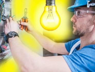 работа муж на час электрика в Азербайджан: Электрик мастер
