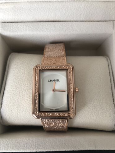chanel 5 в Кыргызстан: Часы Chanel (реплика) новые, привезли с Дубай, (в коробке)