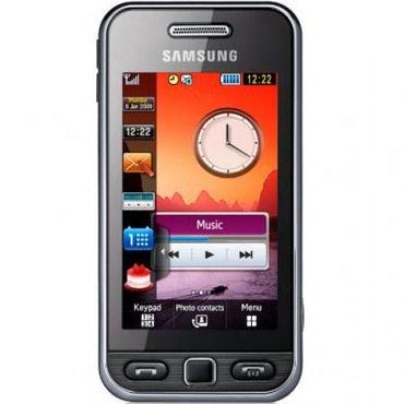 Bakı şəhərində Telefon Samsunq G-S5230 İŞLƏNMİŞ. Adapter qulaqcıq USB