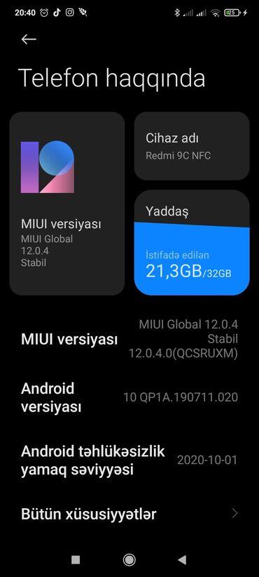 alcatel pixi 34 5 5017d - Azərbaycan: Telefon redmi NFC 9C dir iki ayin telefonudur hec bir problemi yoxdur