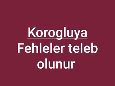 fehleler - Azərbaycan: Korogluda Tikinti ve Sokuntuye Fehleler teleb olunur.Emek haqqi Gundel