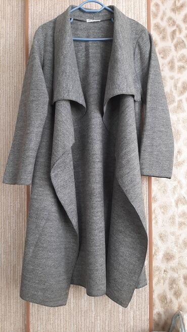 кардиган бишкек in Кыргызстан | ГРУЗОВЫЕ ПЕРЕВОЗКИ: Продаю новый кардиган-пальто на веснуосень без подклада,длина 115см