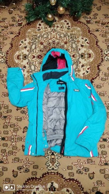 Лыжный костюм, покупала в Gerget sport один раз одела, лыжи не мое))) в Бишкек