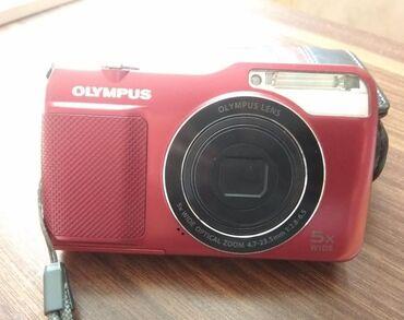 Olympus foto-videoaparatı. 14Megapixel.Optik zoom : 4.7-23.5mm. 5x