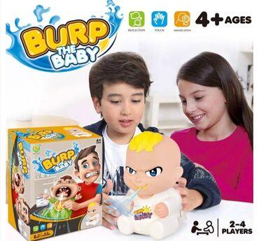 Društvena Igra probajte da naterate bebu Boba da podrigneO, NE! Beba