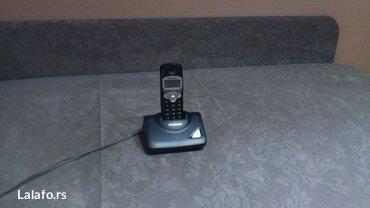Dobar Panasonic bezicni fiksni telefon.. Potpuno ispravan sa punjacem. - Kraljevo