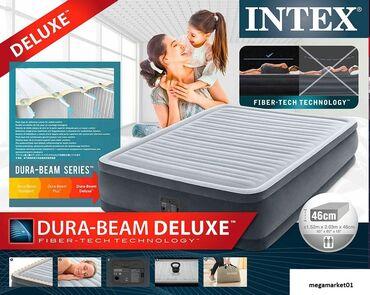 Двуспальная надувная кровать серии Dura Beam изготовлена по технологии