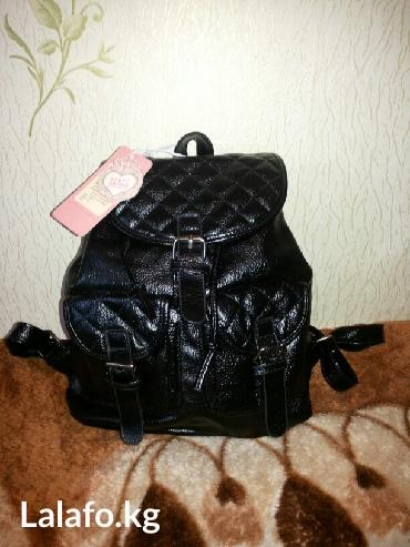 Новый кожаный рюкзак в Бишкек