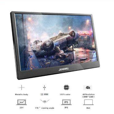 Компьютеры, ноутбуки и планшеты в Бишкек: Продаю портативный игровой монитор-планшет 18,4 дюймов 3840X2160 4K