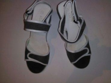 Sandale broj 38, vidi se na gazistu nije obrisan broj, nove su - Kovin