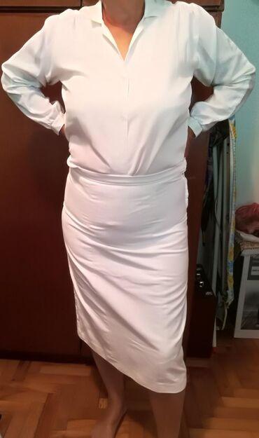Komplet bela suklnja i kosulja moze i pojedinacno