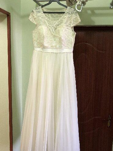 стильные платья для полных девушек в Кыргызстан: Продаю своё счастливое платье размер 42 (м) на девушек ростом 155-165