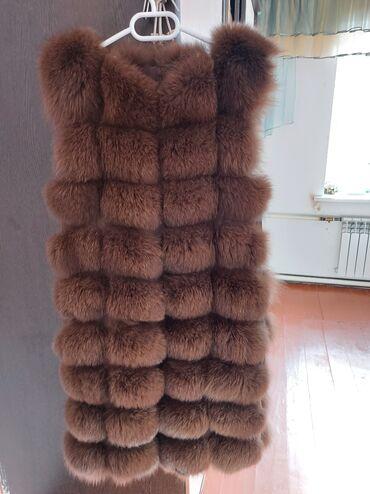 жилет мужской в Кыргызстан: Шуба почти новая размер 42.44 одевала пару раз