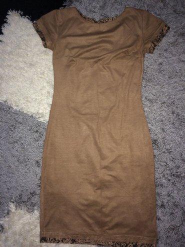 Od haljina cipke - Srbija: Haljina od velura. Lepo prati liniju tela i prijatna za nosenje. Na
