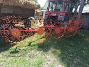 трактор мтз 82 1 в лизинг in Кыргызстан | СЕЛЬХОЗТЕХНИКА: Продаю трактор МТЗ-82 1995 г.в имеется пресс подборщик FAHR-460, ворош