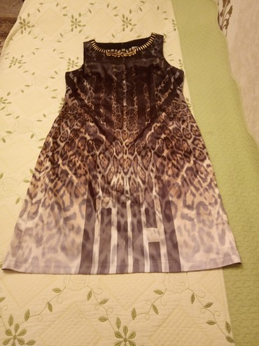 вечернее леопардовое платье в Кыргызстан: Леопардовое платье размер56.54