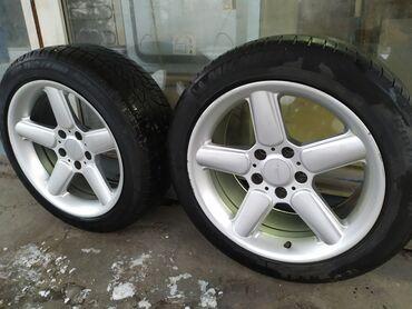 шницер диски в Кыргызстан: Два диска Шницер R17 на BMW. Диски ровные, не вареные, не катаные. С