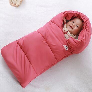 Тёплый конверт для детей красного цвета! Размер L!!!Отличный вариант