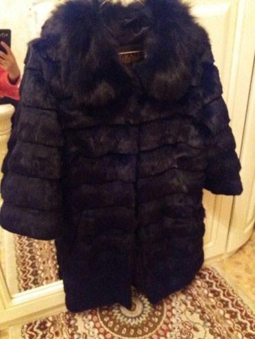 Шуба меховая кролик  размер 46-48. Состояние нового, одевала пару раз в Бишкек