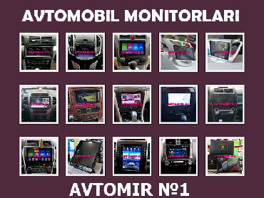 açılıb yığılan oturacaqlar kreslolar - Azərbaycan: Avtomobil monitorları.  dvd-monitor hər cür avtomobil ücün.  hər nov m