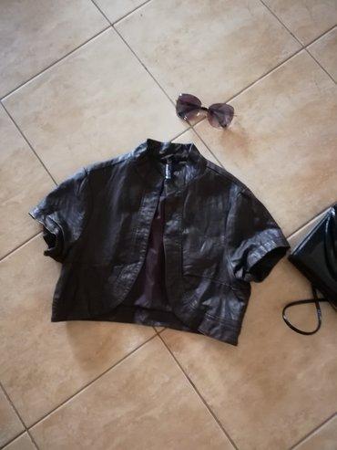 Kozna jakna, kratka, sexy Vel. 36.saljem post espresom - Jagodina