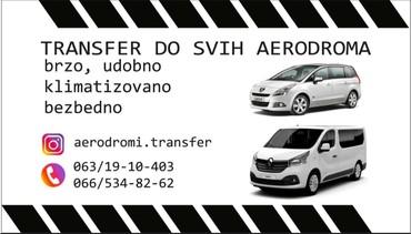 Auto services - Srbija: Prevoz do aerodroma; Surčin Budimpešta Temišvar Niš