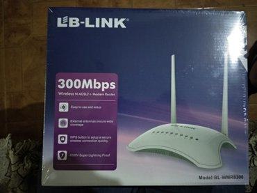Bakı şəhərində Lb link modemi catdorma 28 maya 300mbps wirles n adsl 2+ midem