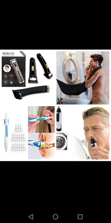 Aparati za brijanje - Srbija: AKCIJSKI TOP SET 4 u 1 – za muškarce2.200rsdSet uključuje:* Bežična