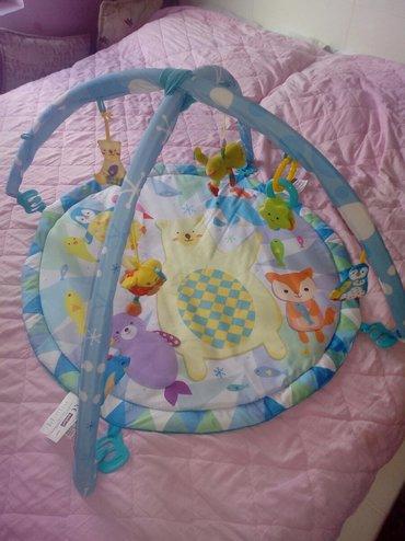 Igračke | Kragujevac: Prodajem baby gimnastiku /podlogu za igru,nije ostecena,kupljena u