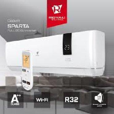 сплит система mitsubishi heavy в Кыргызстан: Инверторный кондиционер Royal Clima серии SPARTA DC EU Inverter теперь