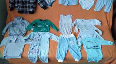 Pantalonice - Srbija: Paket za decaka od godinu dana   Garderoba bez ikakvog ostecenja, kval