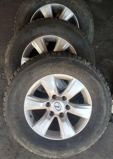 Продаю комплект колёс от Лексуса 470 ; состояние дисков идеальное не