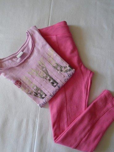 Roze helankice H&M od 95% pamuka i 5% elastina, veličine 116, - Belgrade