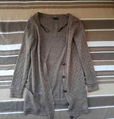 Ženska džemperi - Srbija: VERO MODA braon duzi kardigan dzemper na dugmiće. Veličina M. Bez
