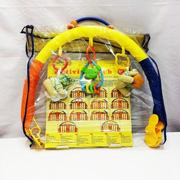 Детский мобиль - потрясающий яркий комплект с игрушками на кроватку