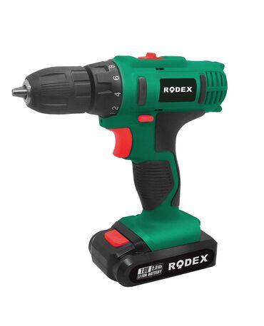 Аккумуляторный ШуруповертПроизводитель: RODEX RDX 337Состояние