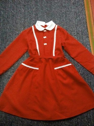 Платье для девочки, с карманами, сзади в Токмак