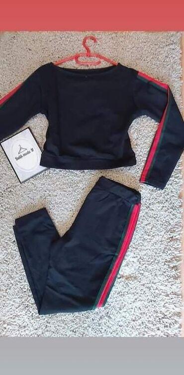 Komplet trenerkice 🥰U 3 boje Bebi roza, bordo i tegetUniverzalna