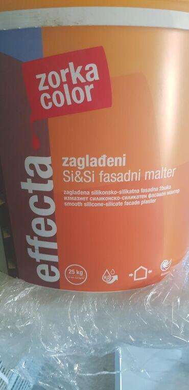 Građevinski materijali | Srbija: Fasadni malterSilikonski malter imam 32kante. Koje su u roku