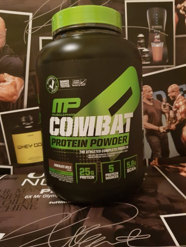 MUSCLE PHARM COMBAT POWDER 1.8KG BLEND PROTEIN - Novi Sad