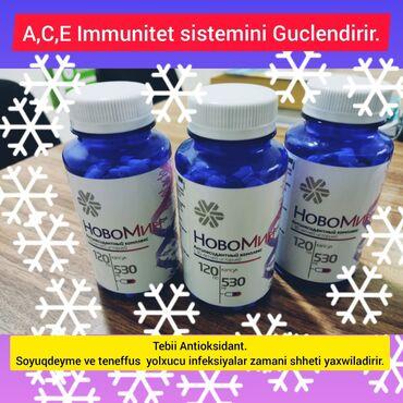 Vitaminlər və BAƏ - Salyan: Novamin guclu Antioksidant immunitetin berpasinda evvezsiz bir