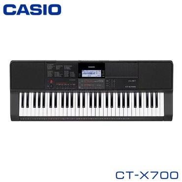 Синтезатор Casio CT-X700 - это синтезатор с 61 клавишей (пять октав)