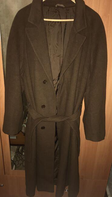 где можно купить платья больших размеров недорого в Кыргызстан: Итальянское пальто с поясом.Куплено в Европе качество высшее.100%