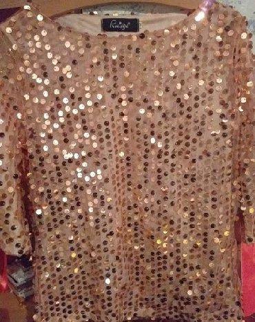 Preslatka disco bluza, mnogo lepsa uzivo, velicina odgovara od 36 do - Kikinda