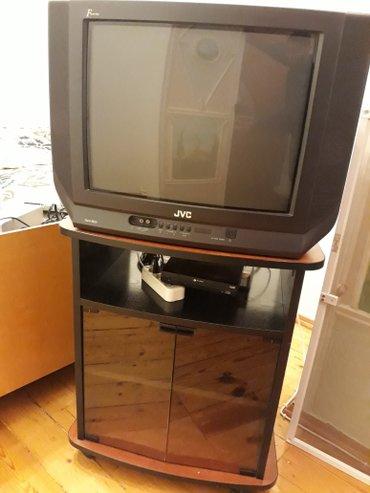 Xırdalan şəhərində Jvc televizor,televizor altligi,krosnu aparati ve yerli kanallara